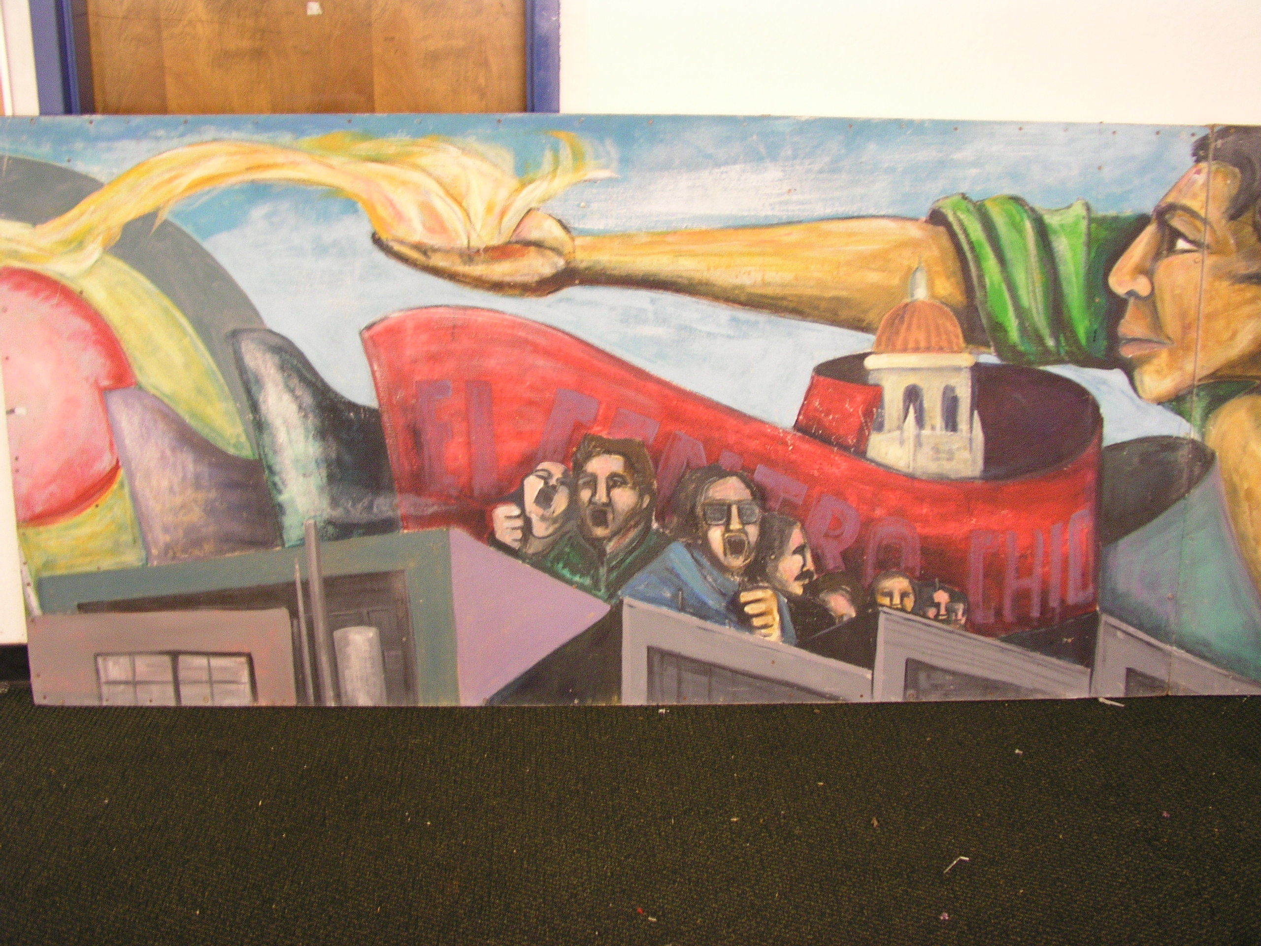 What specific issues/problems are the chicano community facing in these times?